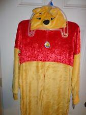Disney Women's Winnie the Pooh Sleepwear Union Suit Pajamas One Piece Size 2X