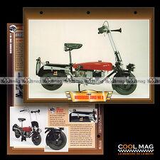 #073.05 Fiche Moto BROCKHOUSE CORGI 98 cc MK2 1948-52 Motorcycle Card