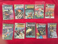MARVEL PRESENTS COMICS Issues1-10 WOLVERINE and #s 11-15, 18-21 COLOSSUS (1988)