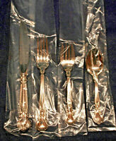 CHANTILLY GORHAM  STERLING FLATWARE SET FOR 4 with 5 pieces per  TRUE PLACE SIZE