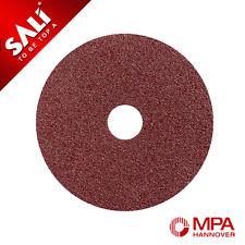 115mm Fibre Sanding Discs 80 Grit - Pack of 50