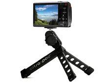 """Pedco Ultrapod Mini Tripod Black Small Lightweight Portable Camera 4""""x1""""x1.25"""""""