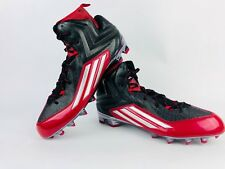 Men's Adidas Crazyquick 2.0 High NCAA Red Athletic Football Cleats Q16437 S