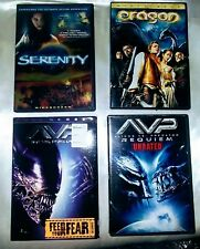 Action Sci-fi Movie Lot four movies in Good Condition.