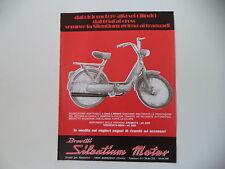 advertising Pubblicità 1979 MARMITTE SILENTIUM e PIAGGIO CIAO 50