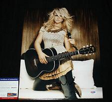 Miranda Lambert signed 11 x 14, Platinum, Revolution, Over You, PSA/DNA AB62611