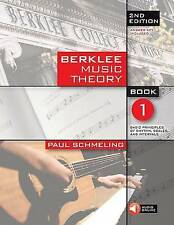 Berklee Music Theory Book 1 (Book/online audio) 2nd Edition by Paul Schmeling