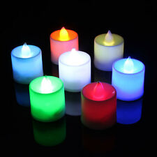 LED 7 Color Chang Flash Flicker Flameless Battery Electronic Candle Tea Light