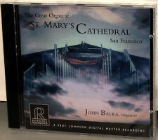 Reference Recordings CD RR-98: Organ St. Mary's Cathedral - BALKA - 2002 USA SS
