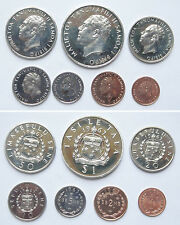 Samoa Coins FIRST Set of 7 Pieces 1967 UNC