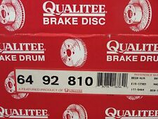NOS Qualitee R92810 Front Disc Brake Rotor fits Ford Thunderbird Mercury Cougar