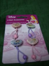 DISNEY  PRINCESSES HAIR ACCESSORIES pack of 4