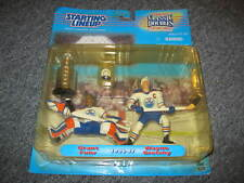 Starting Lineup Hockey Gretzky Fuhr Stanley Cup NEW Yellowing Blister