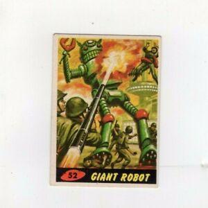 1962 Original Topps Mars Attacks Card #52 GIANT ROBOT