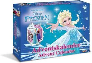 Disney Frozen Elsa und  Anna Adventskalender Advent Neu OVP