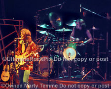 CHRIS SQUIRE PHOTO ALAN WHITE YES 1978 by Marty Temme 2B North Drums Jazz Bass