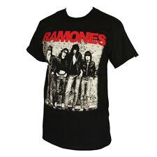 RAMONES ROCK BAND MEN'S T-SHIRT BLACK