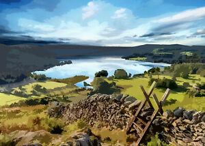 Lake Windermere Lake District Limited Art Print By Sarah Jane Holt
