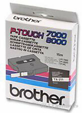 BROTHER   TZ-631   TAPE, BLACK/YELLOW, 12MM