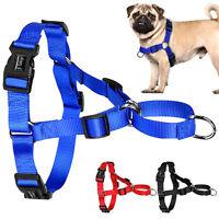 Nylon No Pull Dog Harness Front Leading Dog Training Walking Harness for Pitbull