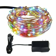 ILLUNITE 33ft 100 LED String Lights, Dimmable Waterproof Decorative Lights