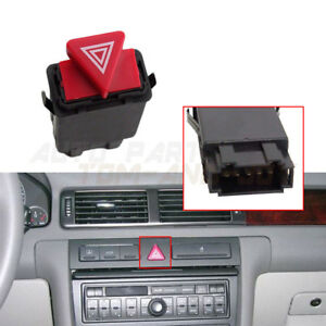 Hazard Emergency Warning Switch 4B0941509 for AUDI A6 A6 Quattro 1998-2004 10PIN
