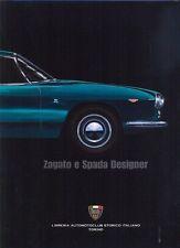 Zagato e Spada Designer Lancia Ferrari Alfa Romeo styling - excellent book