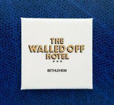 Walled Off Hotel Banksy Bethlehem Fridge Magnet Calamita imán de nevera aimant