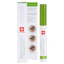 2 X Eveline Advance Volumiere Eyelashes Concentrated Serum 3 in 1 Lash Primer