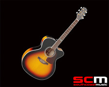 Takamine T GJ72CEBSB Jumbo Acoustic Electric Guitar Sunburst with Cutaway New