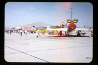 1950's USAF 54-2076 F-100C Super Sabre Aircraft at George AFB, Orig. Slide a1a