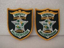 More details for police hillsborough county florida deputy sheriffs office shoulder patches