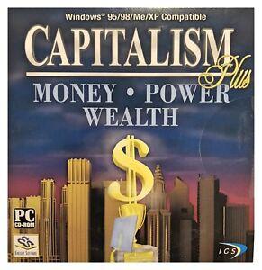 Capitalism Plus Pc Brand New Win10 8 7 XP