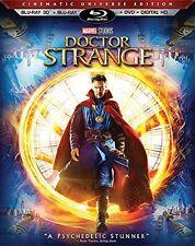 Doctor Strange Blu-ray 3D + Blu-Ray + DVD + Ultra HD