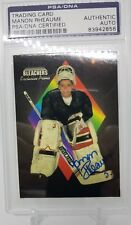 Manon Rheaume autographed  PSA/DNA Bleachers Exclusive Promo.