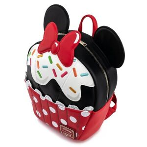 DISNEY MINNIE MOUSE SPRINKLE CUPCAKE MINI BACKPACK LOUNGEFLY EXCLUSIVE