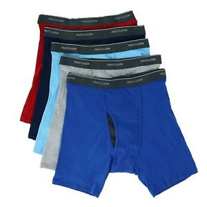 New Fruit of the Loom Men's Coolzone Mesh Fly Boxer Brief (5 Pack)