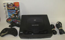 Sega Saturn Console (NTSC) Bundle System 3 NEW Games *NEW SAVE BATTERY*
