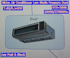 Air Conditioner Reverse Cycle Duct 7 Ceiling Tyre 26000/27800Btu MTA-26HR