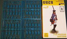 1/72 Hat 7yw Prussian Marching #8280 Arw - Awi Infantry set plastic Mib