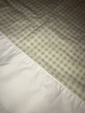 The Company Store KING SIZE Flannel Sheets 5oz WHITE G114-H09-01