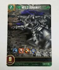 Godzilla Card Game Mfs-3 (Runaway) Full Art Foil Gz01-71-Eb Chrono Clash System