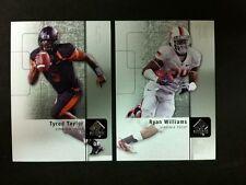 Ryan Williams Taylor Virginia Tech Rookie Standouts 2-Card Lot 2011 SP Football