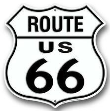 "Historic Route 66 Novelty Route Badge Shield 12"" Sign Garage Auto Shop Decor"