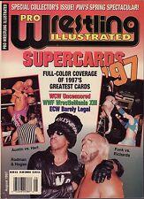 Pro Wrestling Illustrated August 1997 Hulk Hogan, Steve Austin VG 050416DBE
