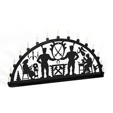Arco Arco de Luces Erzgebirge Bergmann Metal XL Exterior Negro