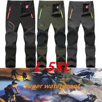 Men Waterproof Warm Pants Outdoor Hiking Camping Skiing Snowboard Snow Trousers