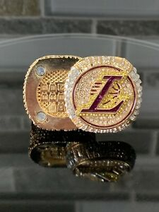 HOT Los Angeles Lakers 2020 FLIP TOP Championship Ring Ships From USA!!! Size 11