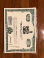 Standard Oil Co., Specimen  Stock Certificate XF ABN