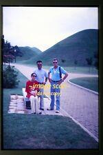 1978 Pretty Korean Woman and Man in Korea, Original Slide c5b